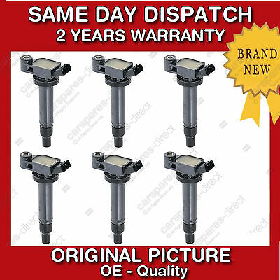 TOYOTA PREVIA,AVENSIS,CAMRY,SIENNA,HIGHLANDER,AVALON 6x SET-6-IGNITION COIL
