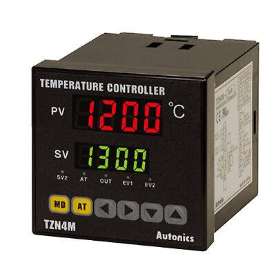 Autonics Tzn4m-14r Pid Temperature Controller 72x72 100240vac Relay250vac 3a