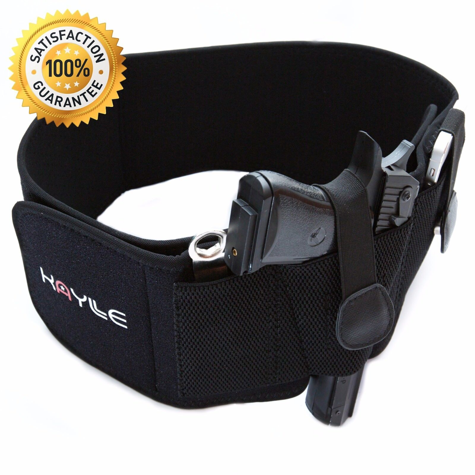 Kaylle Belly Band Holster for Concealed Carry - Neoprene Holster for Men & Women