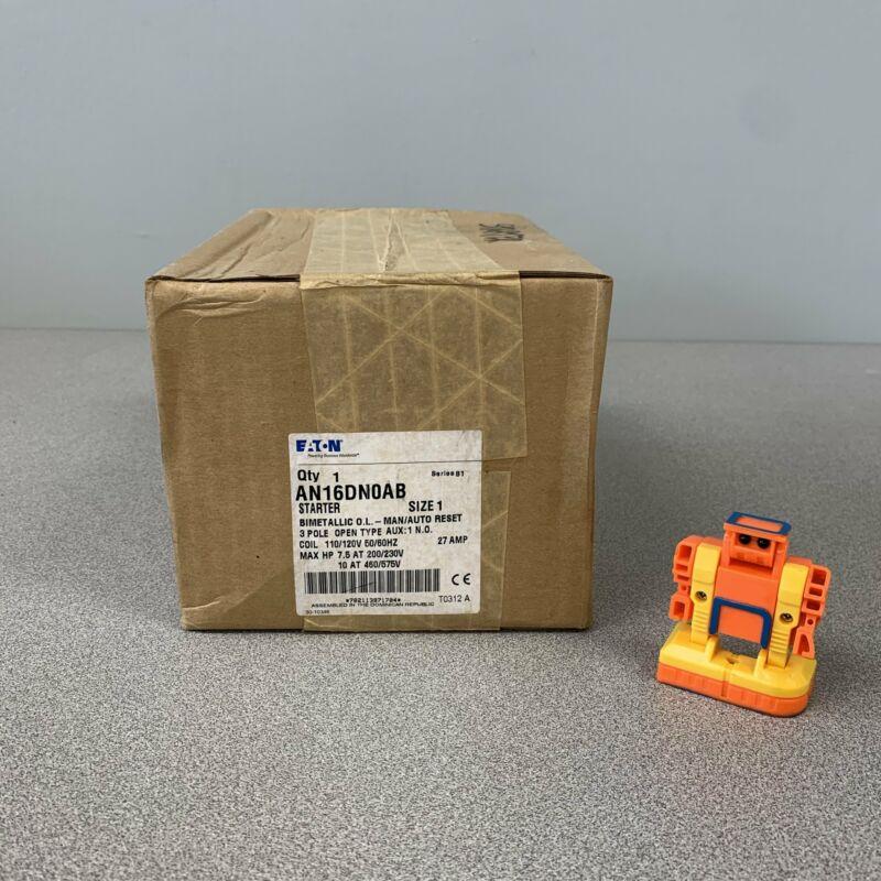 Eaton AN16DN0AB Series B1 Magnetic Motor Starter, Size 1