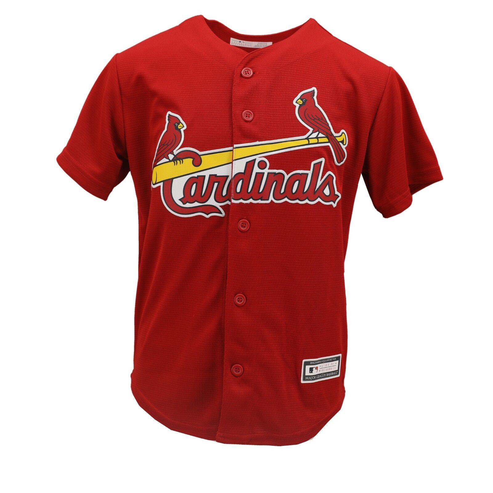f126eb6b Details about St. Louis Cardinals Official MLB Genuine Apparel Kids Youth  Size Jersey New Tags