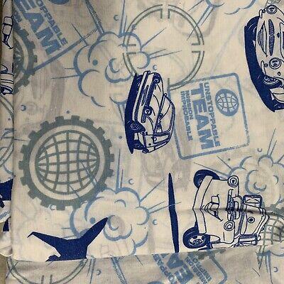 Disney Cars And Planes Toddler Bedding Flat Sheet ()