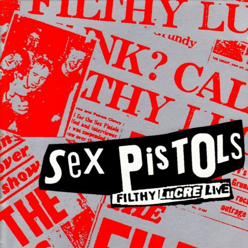 SEX PISTOLS Filthy Lucre Live BANNER HUGE 4X4 Ft Fabric Poster Tapestry Flag art