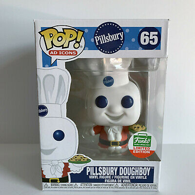 Santa Pillsbury Doughboy #65, Funko Pop Ad Icons, Funko Shop LE, Christmas