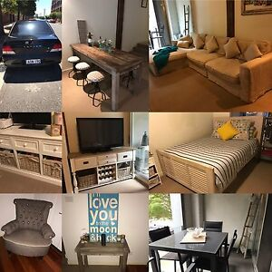 Moving Overseas.  Selling household furniture and Car. Carrington Newcastle Area Preview