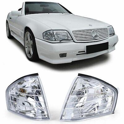 Klarglas Blinker Chrom Paar für Mercedes SL R129 89-01