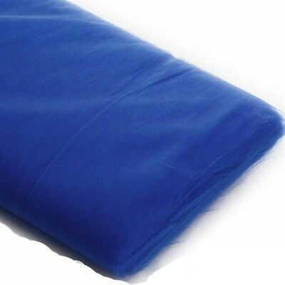 "Royal Blue Tulle - Royal Blue Tulle Fabric Bolt - {54""x 40 Yards Bolt} - Style# 35337"