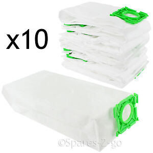5093ER Type Cloth Bags for SEBO X1 X1.1 X4 X5 XP1 XP2 XP3 Vacuum Hoover x 10