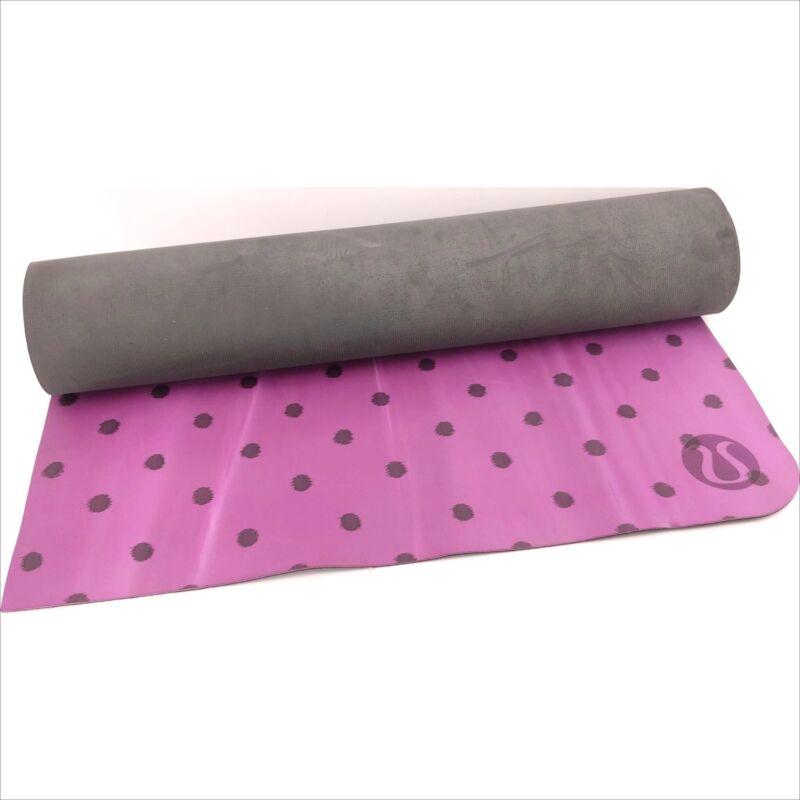 Lululemon Yoga Mat Polka Dot Purple