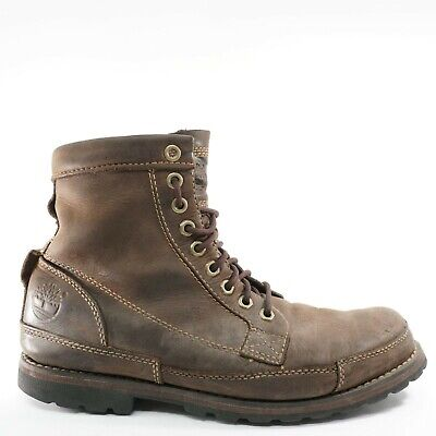 Timberland Earthkeepers Mens Original 6″ Boots Size 8.5 Brown Leather Lace 15550