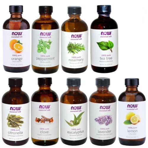 NOW Foods 4 oz Essential Oils (Packaging May Vary)