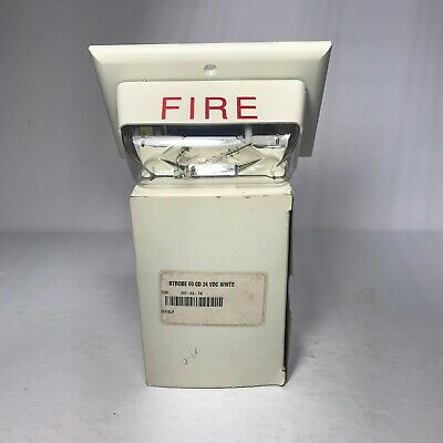 Edwards Systems Technology Est 202-6a-t White Fire Strobe Wterminals 24vdc New
