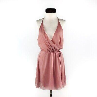 Short Toga Dress (Tobi Blush Pink Grecian Toga Wrap Dress  |  Womens)
