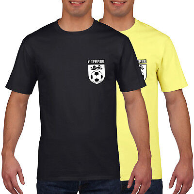 Referee Fancy Dress Outfit Funny Ref Football T Shirt Costume Collina World 889