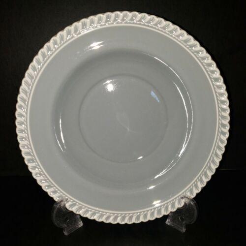 "Harkerware Chesterton Gray - 8 1/2"" Soup Bowls - Lot of 8"