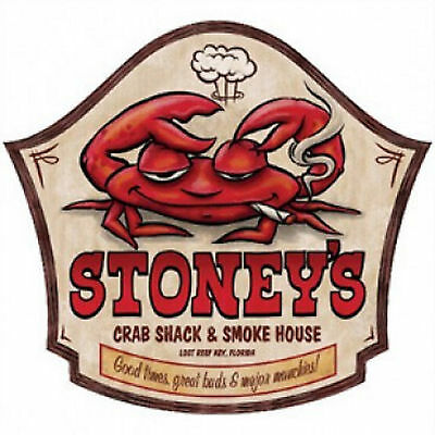 Stoneys Crab Shack   Smoke House T Shirt All Sizes  260