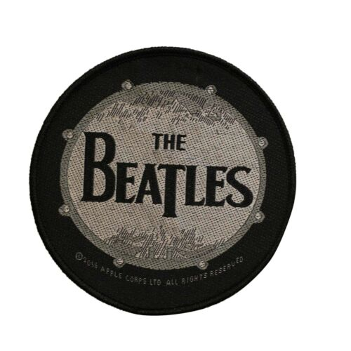 The Beatles Drum Woven Sew On Battle Jacket Patch -  Licensed 073-P