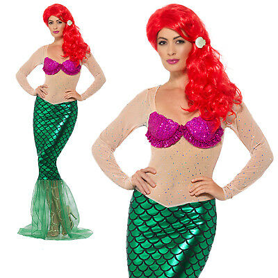 Sexy Mermaid Costume Halloween Adult Mens Fancy Dress Outfit