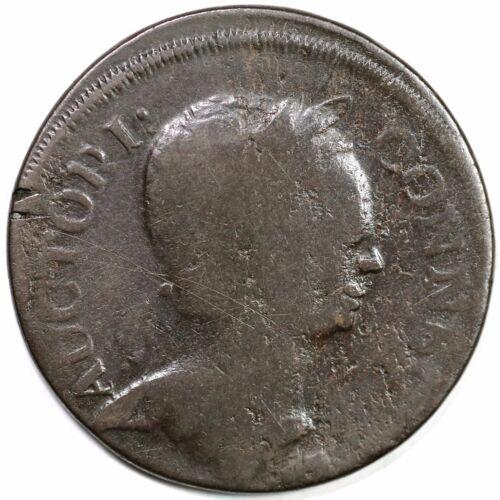 1785 2-a.4 R-6- Roman Head Connecticut Colonial Copper Coin