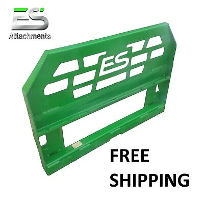 Es John Deere Fork Frame Only Quick Attach Powder Coated Green Free Shipping