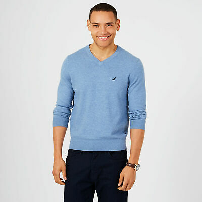 Nautica Mens Jersey Navtech V-Neck Sweater