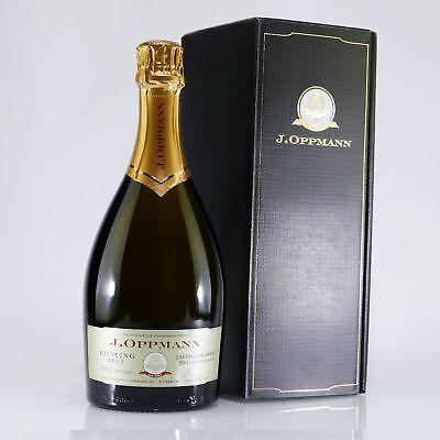 J.Oppmann Riesling Brut Jahrgangssekt 2007 Flaschengärung 12,50% vol. 0,75 L