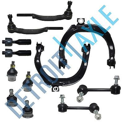 12pc Control Arm Ball Joint Tie Rod Kit for Trailblazer EXT Envoy 16mm Threads Tie Rod End Left Thread
