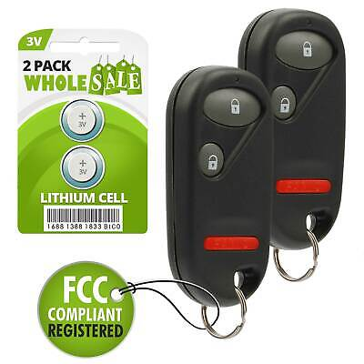 2 Pack NEW Keyless Entry Key Fob Remote For a 2003 Honda Element 2 BTN Fob ()