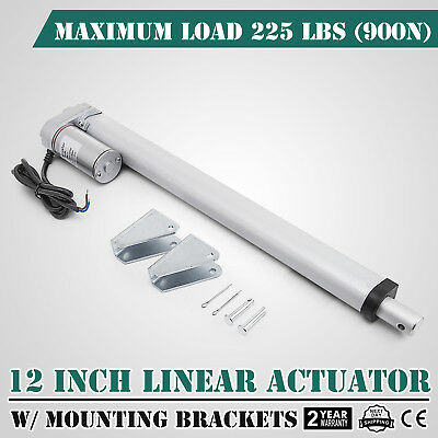 12 Stroke Linear Actuator Dc12v Electric Motor 900n Durable Sturdy Water-proof