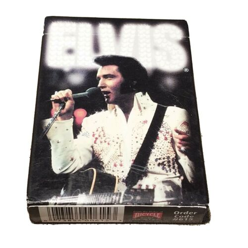 Elvis Presley Picture Playing Cards Regulation Bicycle Brand 50 Photos 60