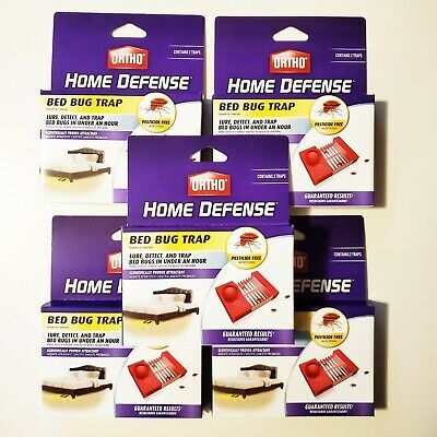 Ortho Home Defense Bed Bug Trap 2 PACK  *MULTIPLE AVAILABLE* Trampa De Chinches