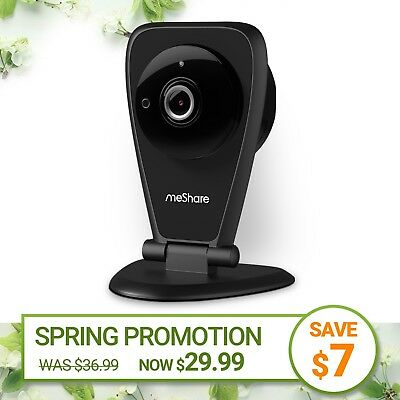 meShare 1080p Indoor Wireless  Security Camera Two-way Audio Motion (Wireless Two Way Audio)