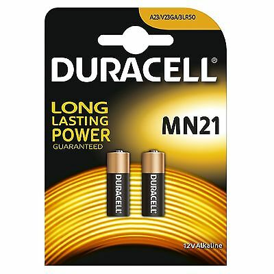 2x Pila Duracell 23A LRV08 MN21 V23GA LR23A 23A L1028 Bateria -...
