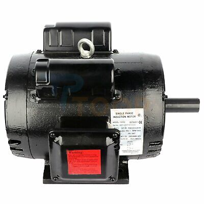 Air Compressor Electric Motor Single Phase 7.5 Hp 2 Pole 3450 Rpm 184t Frmae Odp