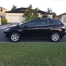 Mazda CX-7 Luxury beige Leather, 111,000km, Full Services history Southport Gold Coast City Preview