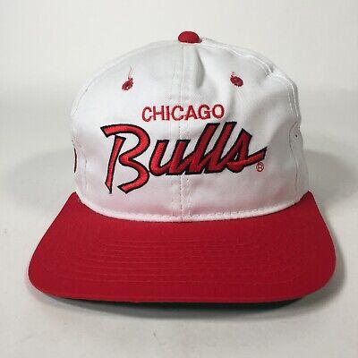 Vintage Deadstock Hat Chicago Bulls NBA Sports Specialties SnapBack