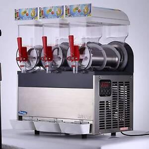 3 TANK FROZEN DRINK SLUSH SLUSHY MAKING MACHINE ELECTRIC 220V Sydney City Inner Sydney Preview