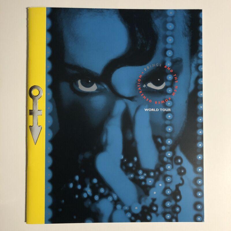 PRINCE 1991 CONCERT Diamonds And Pearls Tour PROGRAM BOOK