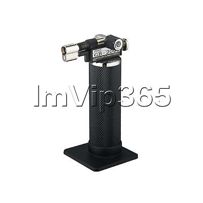 Upgraded Piezo Gas Burner Dental Lab Micro Torch Lighter Soldering Welder Vip