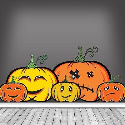 Kinder Freundlich Halloween Kürbis Sticker Partydekorationen Verschiedene - Freundliche Halloween Dekoration