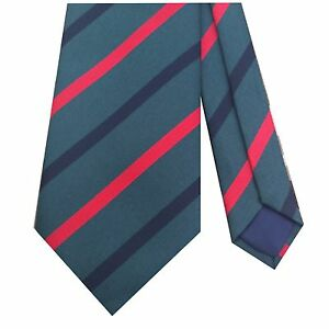 ROYAL-GREEN-JACKETS-STRIPE-MILITARY-REGIMENTAL-TIE