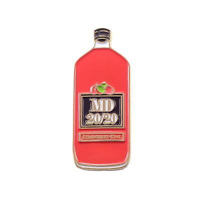 Mad Dog MD 20/20 Red Strawberry Kiwi Thug Life Enamel Pin Lapel