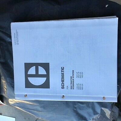 Caterpillar Cat D5 D5h Hydraulic Schematic Bulldozer Tractor Service Manual
