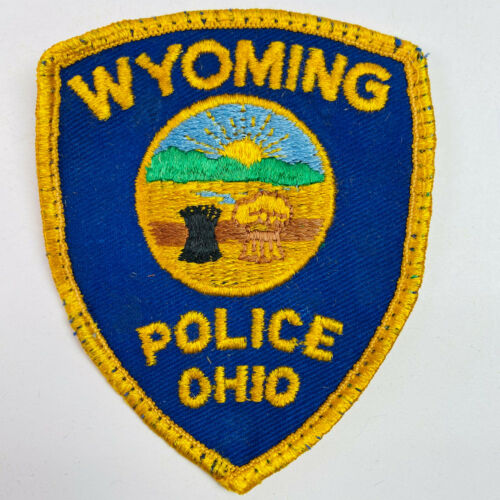 Wyoming Police Hamilton County Ohio OH Patch (B1)