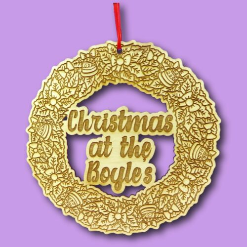 Full+Wooden+Christmas+Wreath+%7C+Personalised+Xmas+Wreath+%7C+Wooden+Wreath