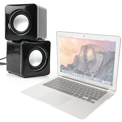 Music Speakers For Use W/ Apple MacBook Air & Pro 13.3