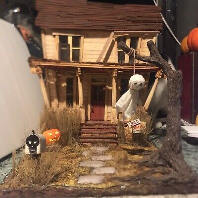 halloween MICHAEL MYERS MINIATURE HOUSE
