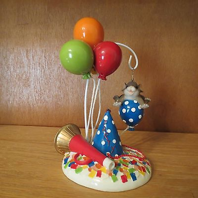 """Charming Tails """"You Give Me A Lift"""" Two-Piece Party Ornament Set with Box"""