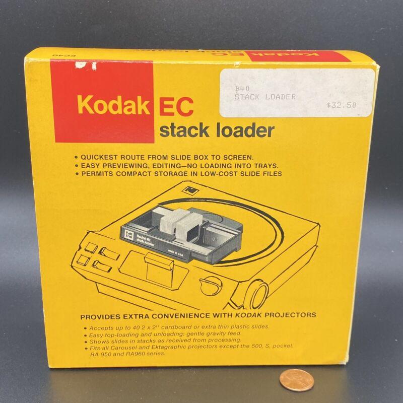 Vtg Kodak EC40 Stack Loader for Carousel Slide Projectors Complete w Box 1980s