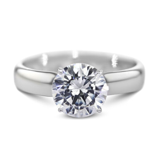 GIA CERTIFIED 1.1 Carat Round Cut G - SI2 Solitaire Diamond Engagement Ring
